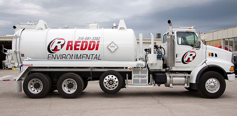 Reddi Environmental Pumper Truck