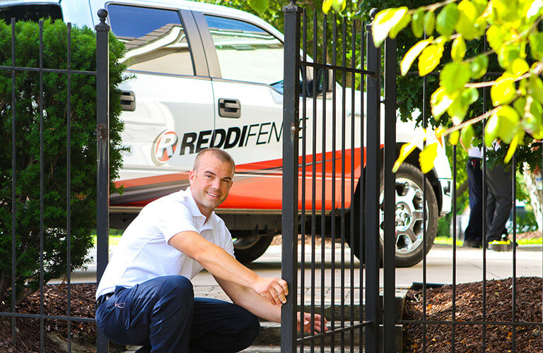 Reddi Fence Wrought Iron Installation